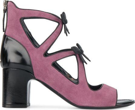 Fabrizio Viti cut out bow 70 heeled sandals