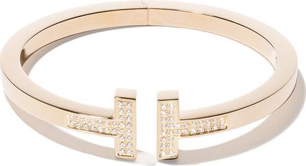 Tiffany & Co 18kt yellow gold Tiffany T square diamond cuff