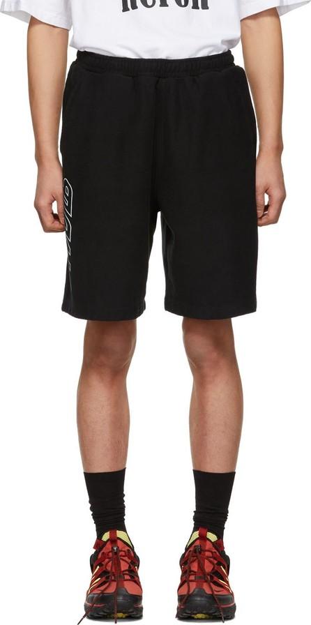 Heron Preston Black 'Style' Sweat Shorts