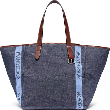 J.W.Anderson 'Belt' logo jacquard canvas tote