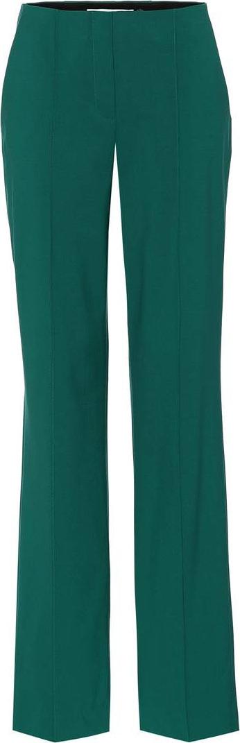 DIANE von FURSTENBERG Wool crêpe pants
