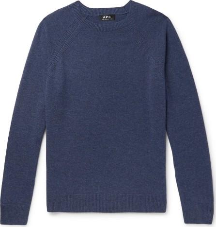 A.P.C. Mélange Cashmere Sweater