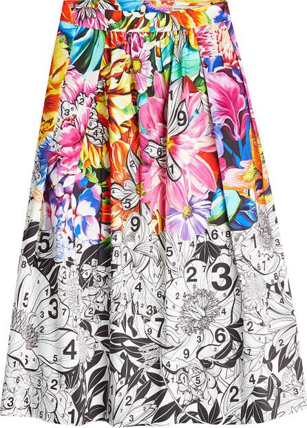 Mary Katrantzou Bowles Printed Cotton Skirt