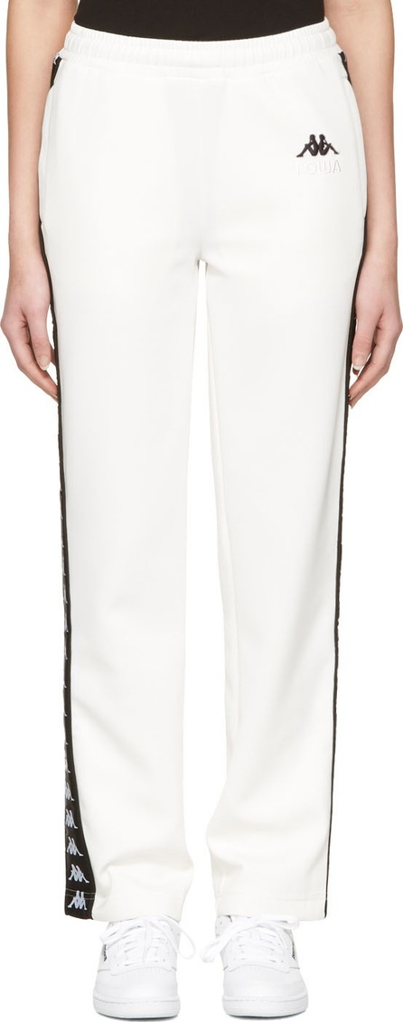 Gosha Rubchinskiy White Kappa Edition Logo Lounge Pants