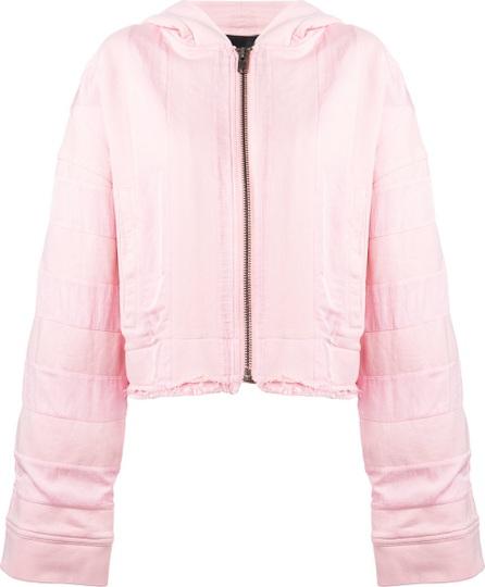 Haider Ackermann elongated sleeves zipped hoodie