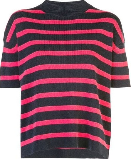 Barrie Striped Knit Tee