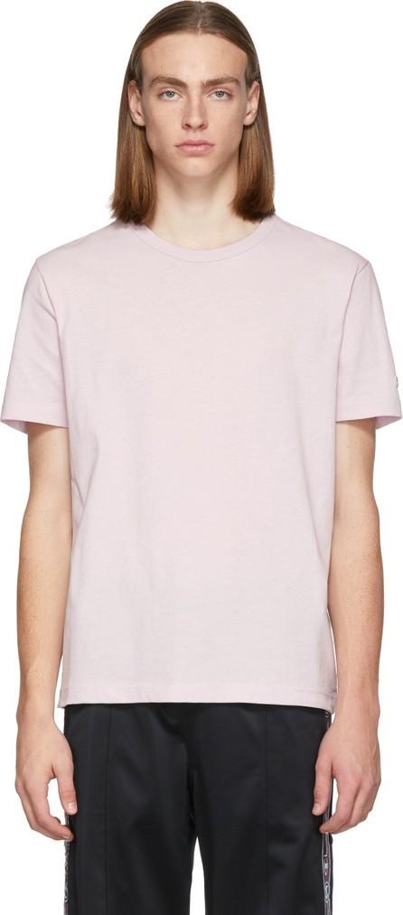 Champion Reverse Weave Purple Logo Crewneck T-Shirt