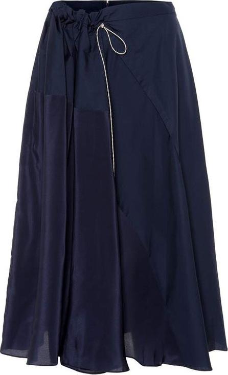Roksanda Misha cotton and silk skirt