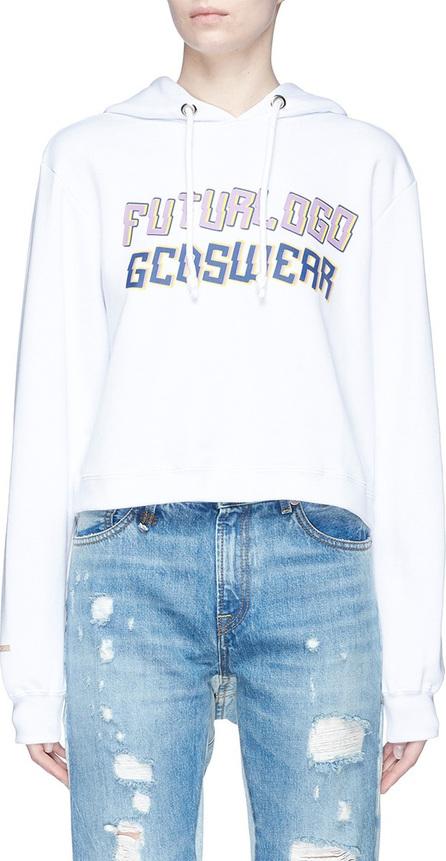 Gcds 'Futurlogo' slogan print hoodie