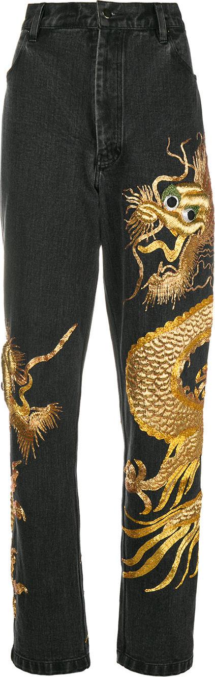 ASHISH Dragon Zardozi jeans
