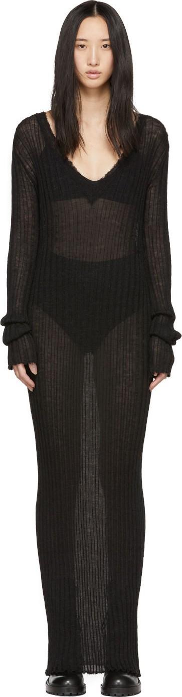 Ann Demeulemeester Black Ashgate Dress