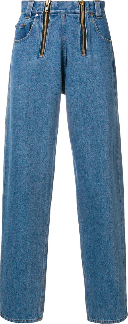 GmbH Zip-detail slouched jeans