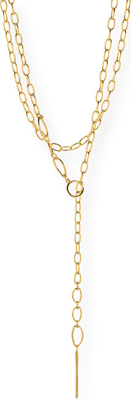 Gorjana Rowan Long Threading Lariat Necklace