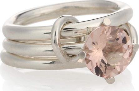 Spinelli Kilcollin Atria sterling silver ring with morganite