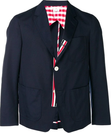 Thom Browne UNCONSTRUCTED PATCH POCKET  Blazer