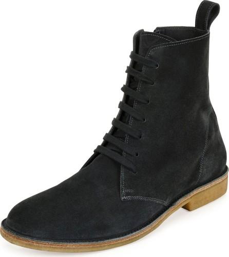 Bottega Veneta Men's Suede Lace-Up Boots