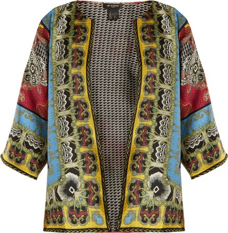 Etro Reversible multi-print silk-twill jacket