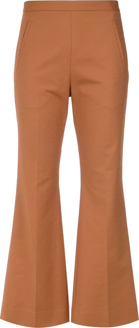 Andrea Marques Flared trousers
