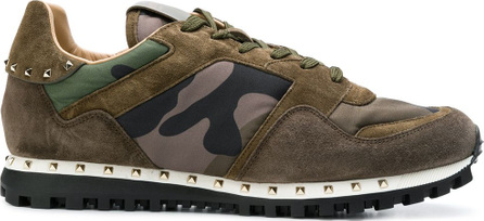 Valentino Valentino Garavani camouflage Rockrunner sneakers