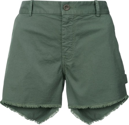Nili Lotan Raw Hem Denim Shorts