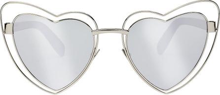 Saint Laurent LouLou Heart Sunglasses