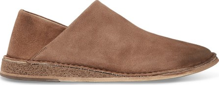 Marsell Stag Collapsible-Heel Suede Loafers