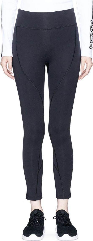 Fendi 'Karlito' print cropped performance leggings