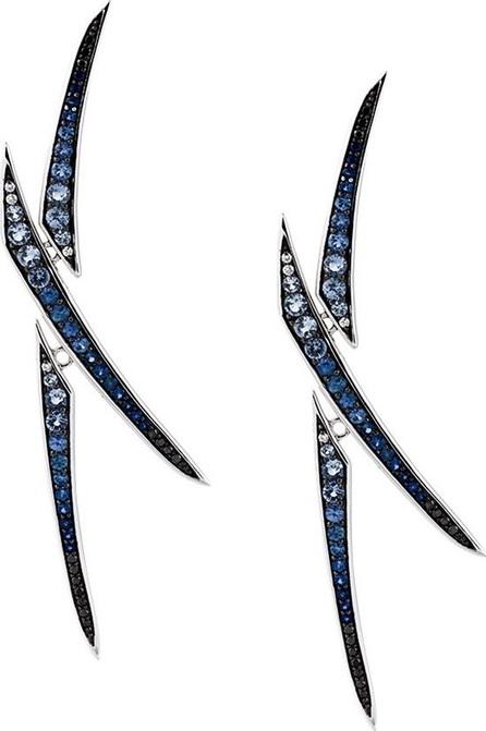 Gisele For Eshvi X sapphire earrings
