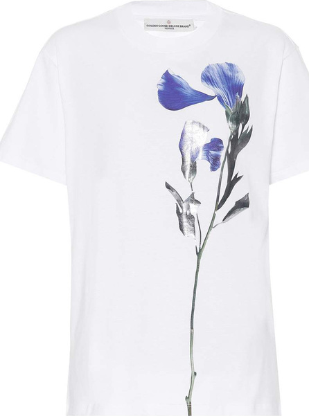 Golden Goose Deluxe Brand Floral-printed cotton T-shirt