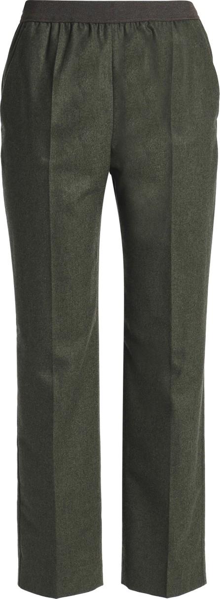 Agnona Mélange wool-blend pants