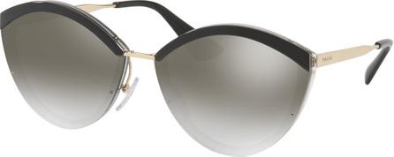 Prada Plastic Cat-Eye Sunglasses