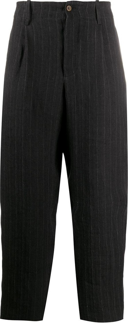 Uma Wang Pinstripe tapered-leg trousers