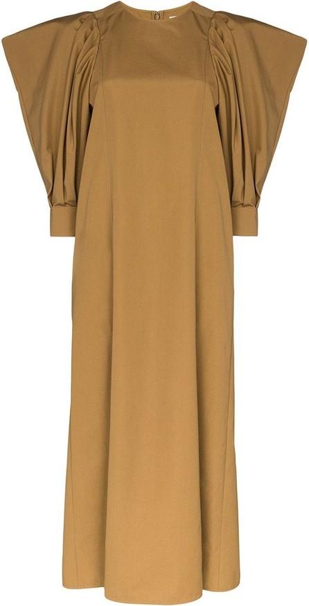Givenchy Puff-sleeve midi dress