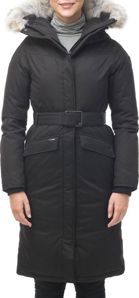 Nobis Morgan Fur-Trim Parka Coat