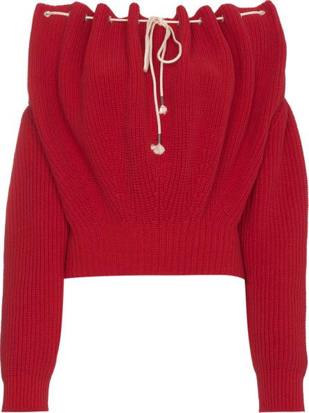 Calvin Klein 205W39NYC Off Shoulder Knit Pullover