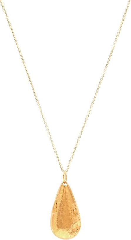 Alighieri The Delphic Tear 24kt gold-plated necklace