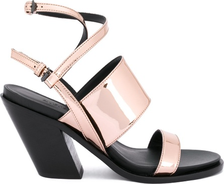 A.F.Vandevorst diagonal heel strappy sandals