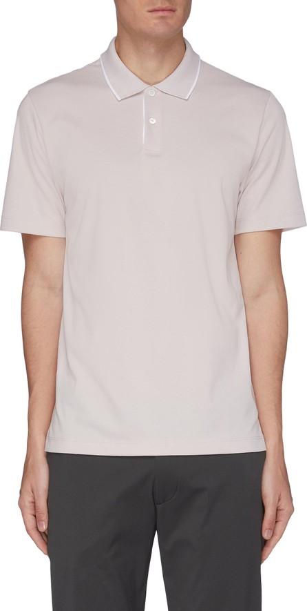 Theory Piqué Cotton Polo Shirt
