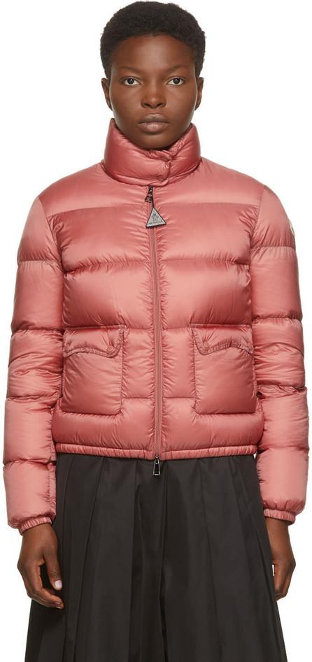Moncler Pink Down Lannic Jacket