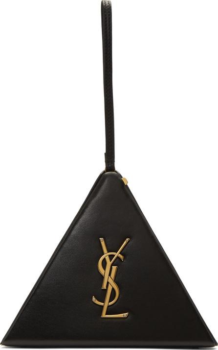 Saint Laurent Black Pyramid Clutch