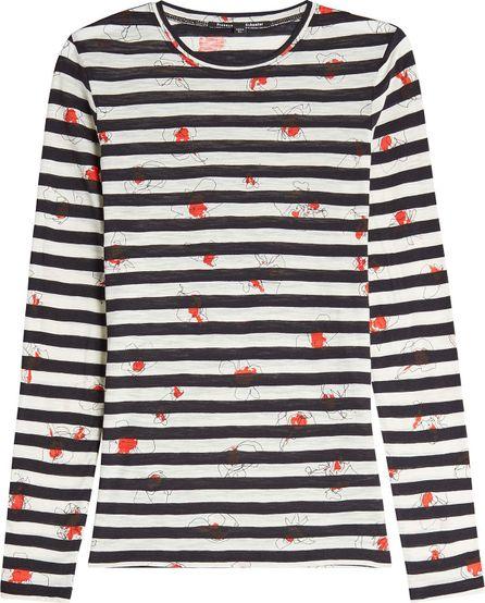 Proenza Schouler Printed Cotton Top