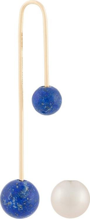Asherali Knopfer Mix and Match Lapis earring