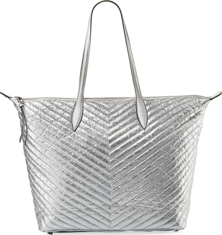 Rebecca Minkoff Quilted Metallic Tote Bag
