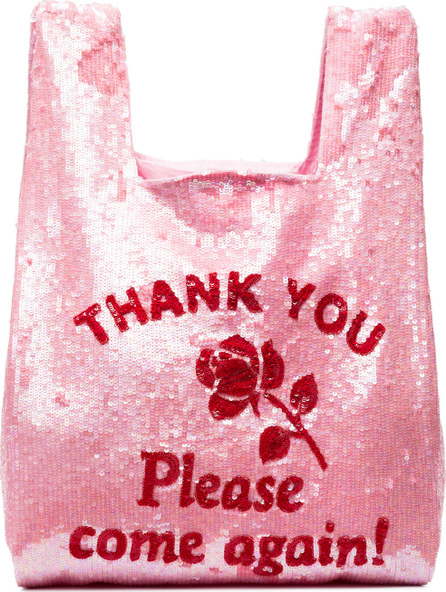 ASHISH Thank You sequin embellished tote