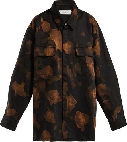 Marques'Almeida Bleached cotton overshirt