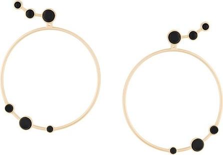 Eshvi 'Lava' hoop earrings