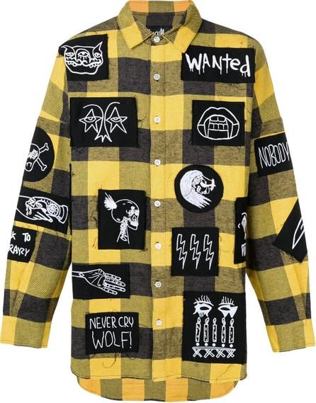 Haculla Patchwork plaid shirt