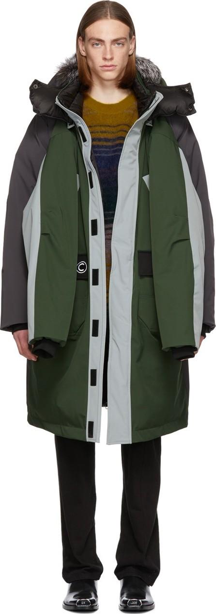 Colmar A.G.E. By Shayne Oliver Reversible Khaki Down Shayne Coat