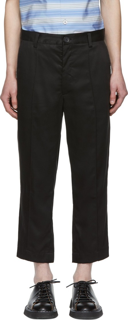 Goodfight Black Permapress Trousers