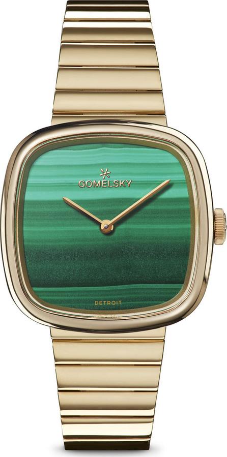 Gomelsky 32mm Eppie Malachite Bracelet Watch